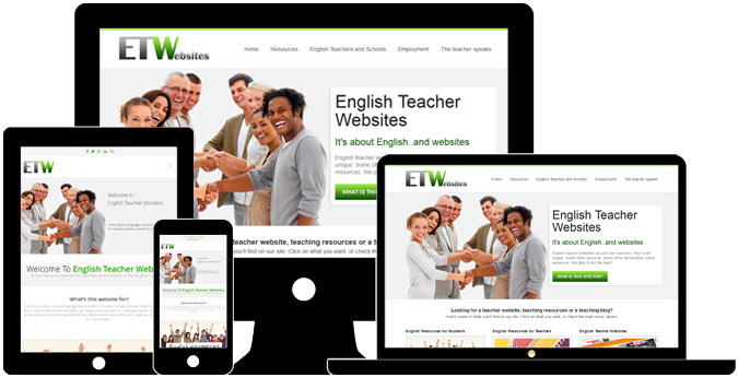 HTML websites for teachers