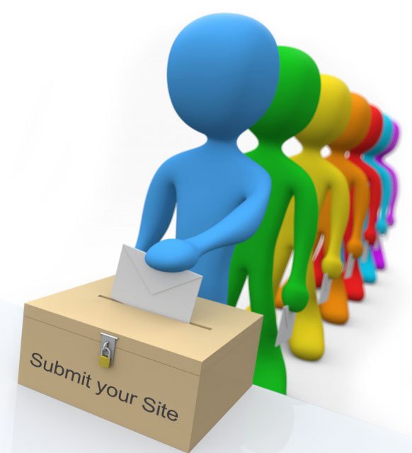 Submit your website here
