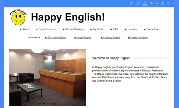 My happy English