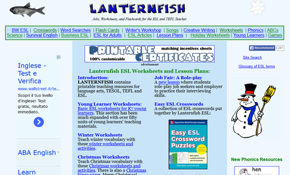 portlandESL   Online Links for Teachers   ESL Resources SlideShare