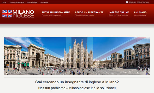 Milano Inglese - Teaching English in Milan