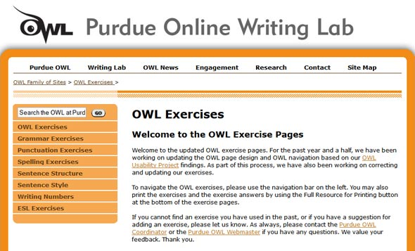 Online english writing