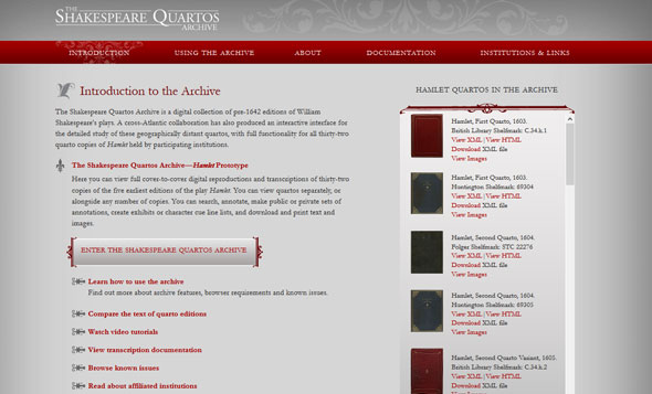 The Shakespeare Quartos