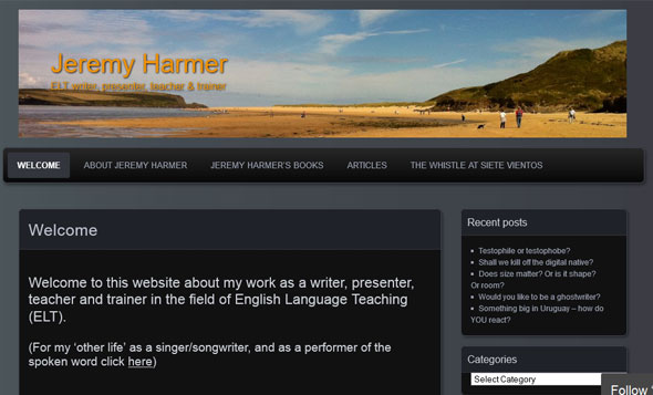 Jeremy Harmer's Blog - a Teaching Blog