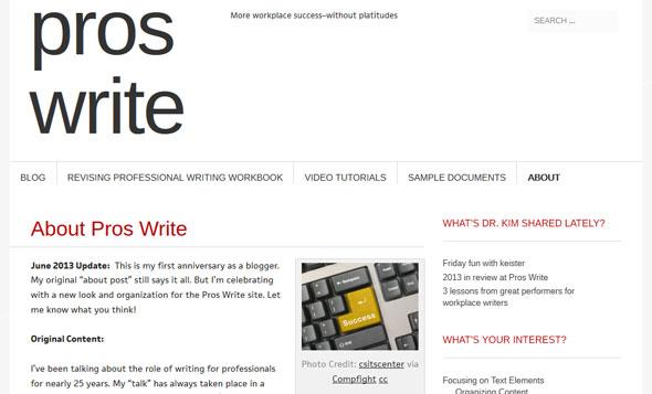 Pros Write - a Teachers Blog