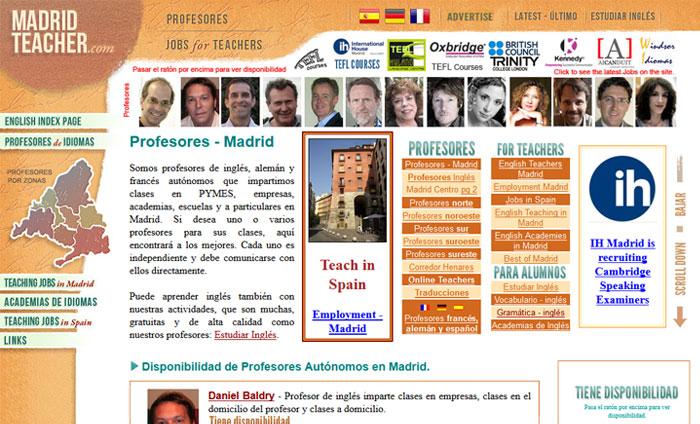Madrid Teacher - English teachers in Madrid