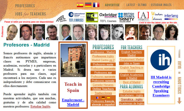 Madrid English Teacher