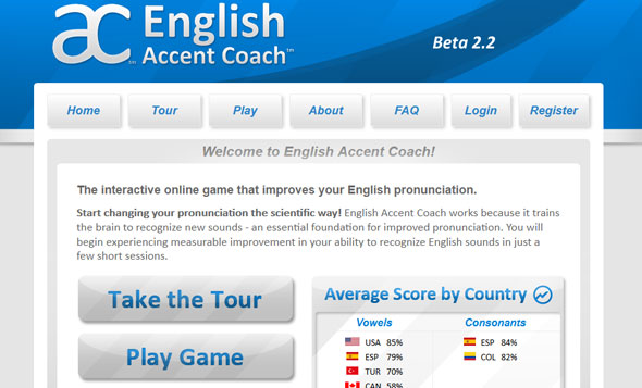 English Accent Coach