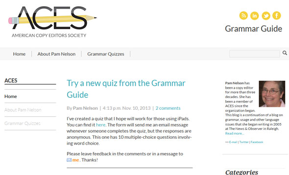 CopyDesk English Grammar Guide