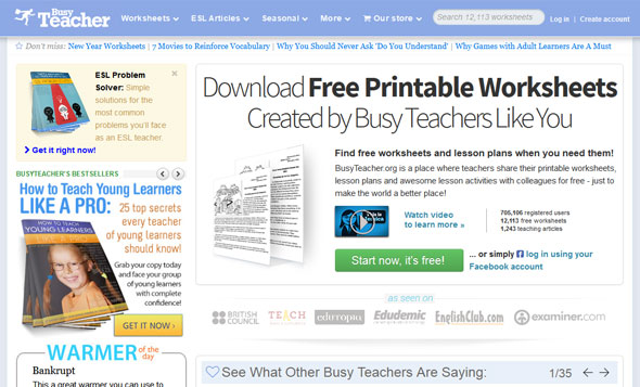 English Teacher Resources - Busy Teacher
