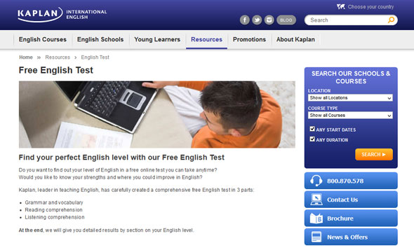 Free English Level Test