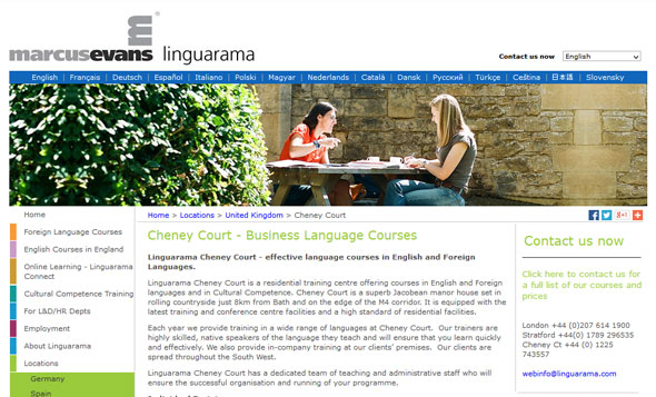 UK Language Schools - Cheney Court