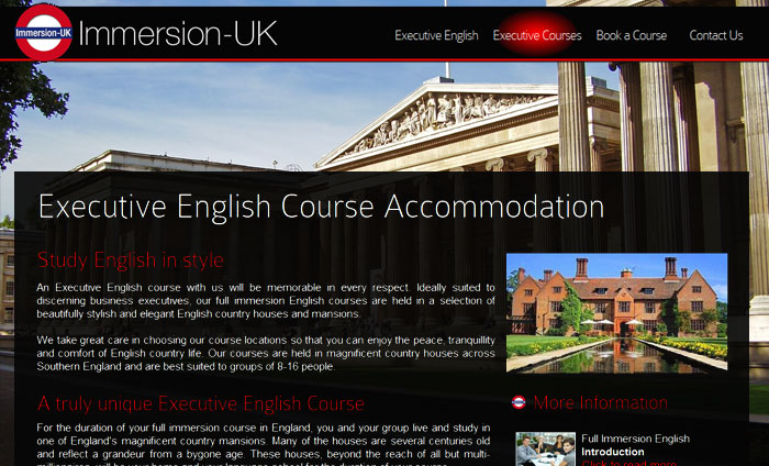 UK Executive English - Immersion UK
