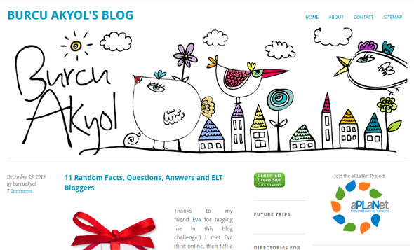 Burcu Akyol's Blog - a Teaching Blog