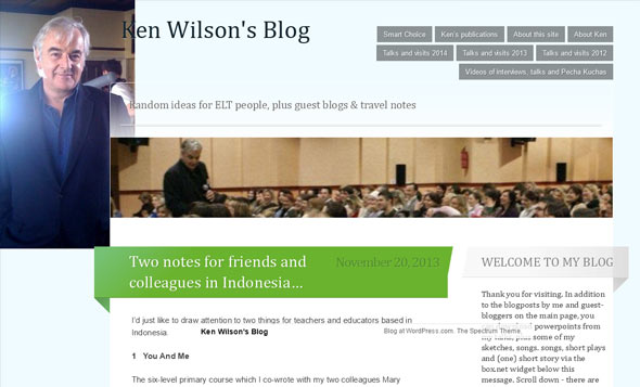 Ken Wilson's Blog - a Teaching Blog