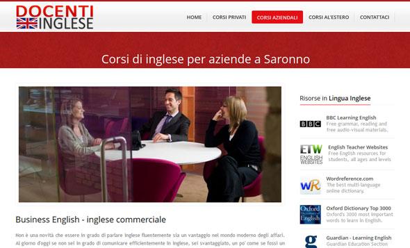 Docenti Inglese - English in Saronno